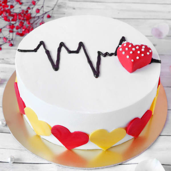 Heartbeat Cake (Half Kg)