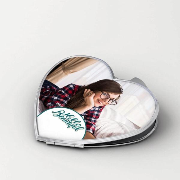Hello Beautiful Personalized Compact Mirror