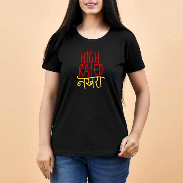 High Rated Black T-Shirt for Women