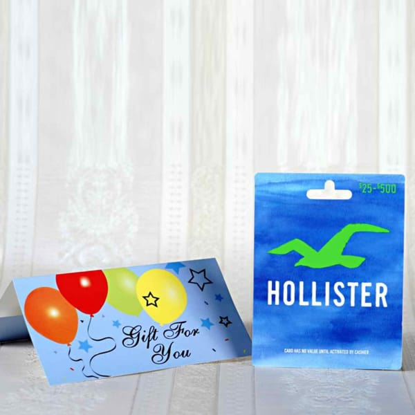 Hollister $25 Gift Card