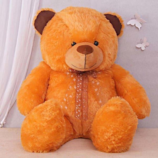 Huge Fluffy Brown Bear