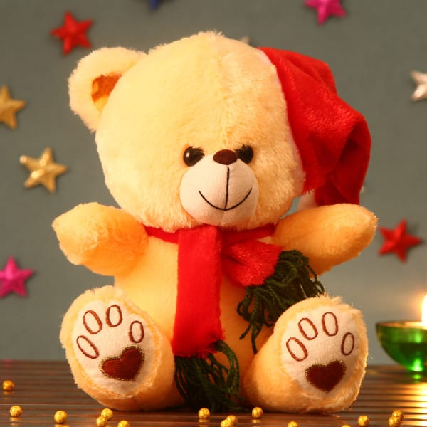 Huggable Yellow Teddy Soft Toy