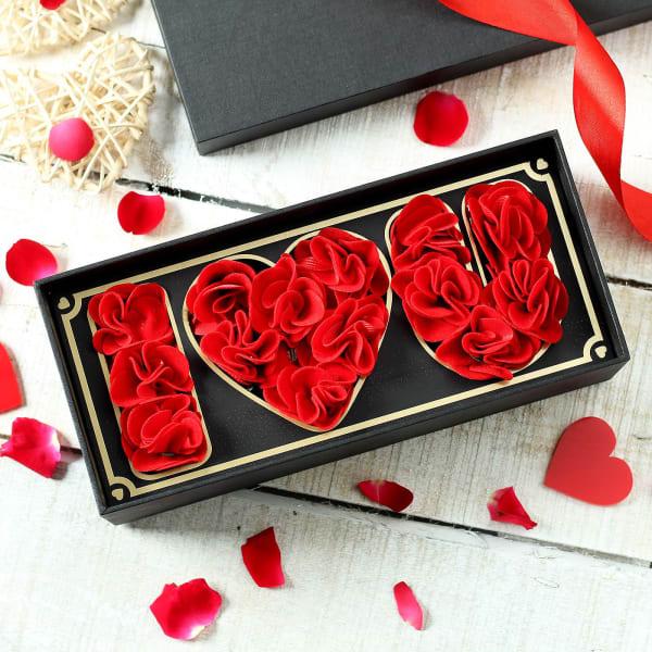I Love You Flower Box