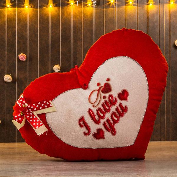 I Love You Heart Shape Soft Cushion