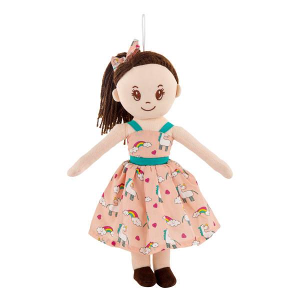 Ivy Unicorn Girl Soft Toy (38 cm)