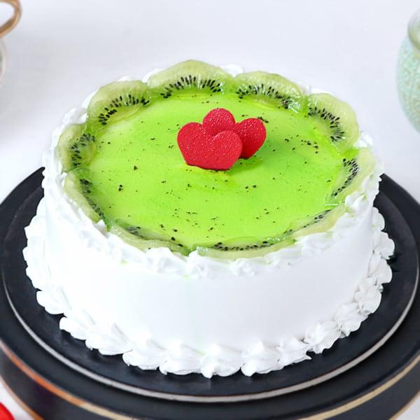 Kiwi Vanilla Cake (2 Kg)