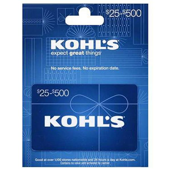 Kohls 25 Gift Card With Yellow Birthday Greeting And Rasgulla