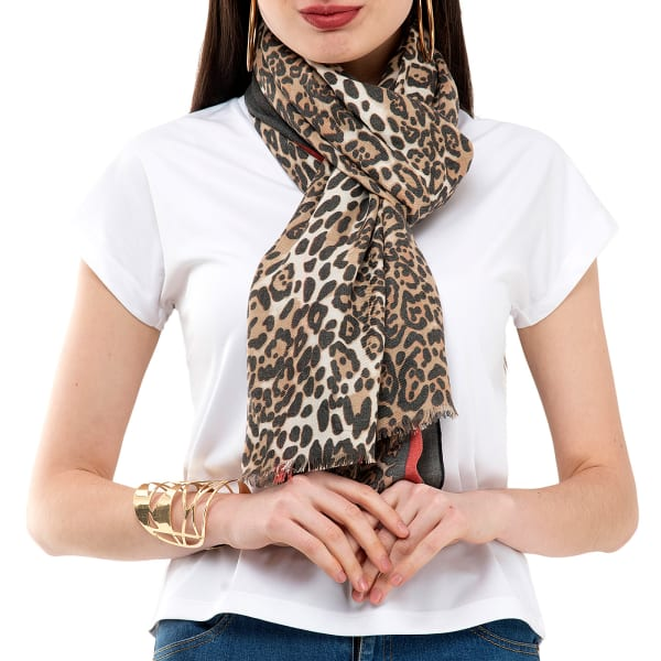 Leopard Printed Stole