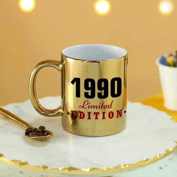 Limited Edition Personalized Birthday Mug