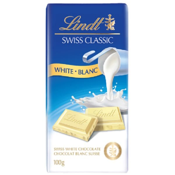 Lindt Swiss Classic White Chocolate Bar