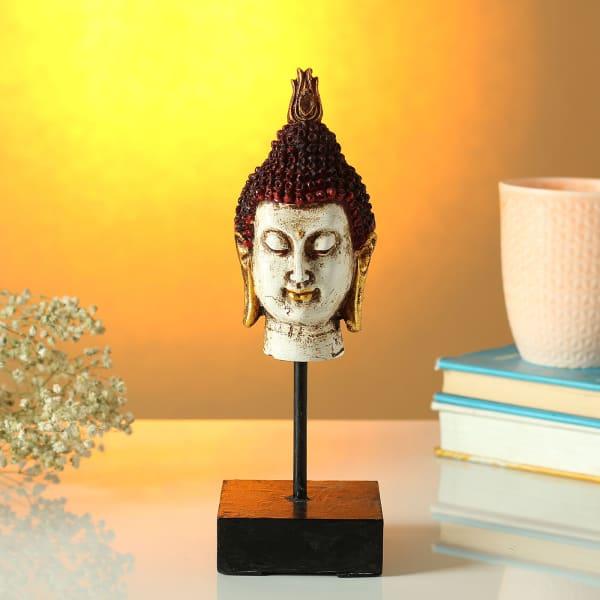 Lord Gautam Buddha Face Idol