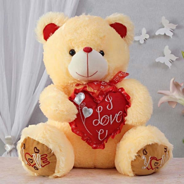Lovable & Soft Teddy Bear Soft toy: Gift/Send Toys and Games Gifts Online L11007183 |IGP.com