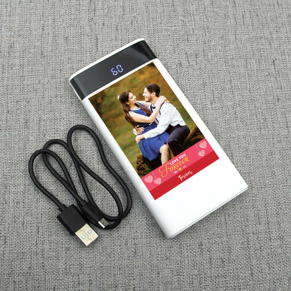 Love Special Personalized Photo Power Bank