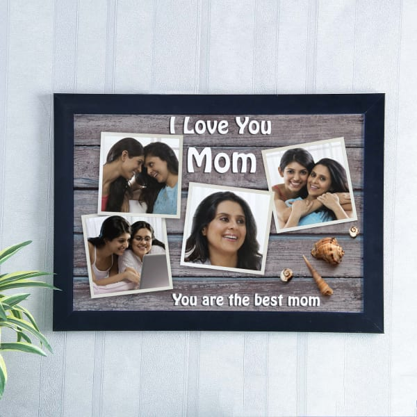 Love You Mom Personalised A3 Photo Frame Giftsend Mothers Day
