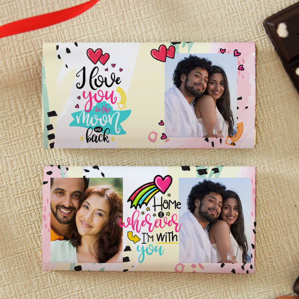 Love You Personalized Chocolates