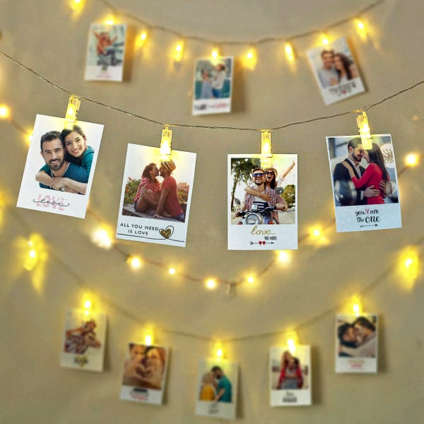 Lovers Personalized Photo Wall Decor