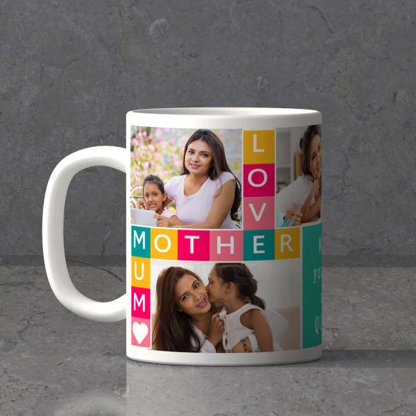 Loving Mom Personalized Mug