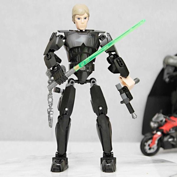 Luke Skywalker Assembly Action Toy