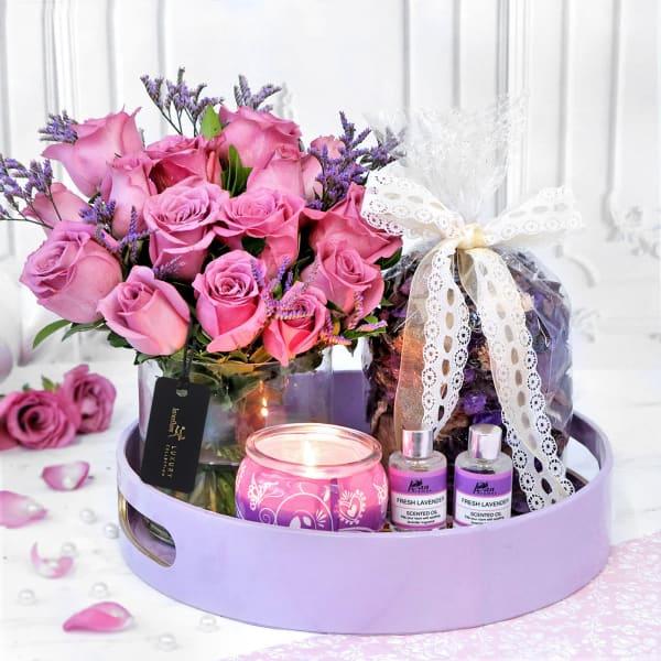 Lush & Lovely Lilac Dreams Hamper