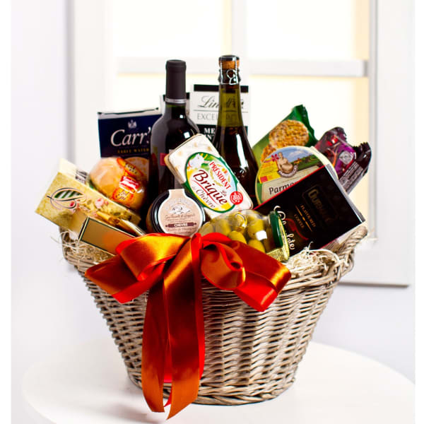 Luxurious Gourmet Gift Basket (no alcohol)