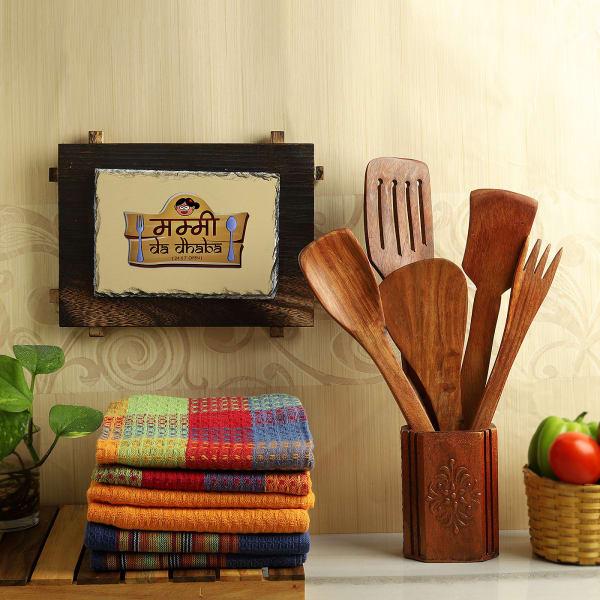 Maa Da Dhaba Tile with Kitchen Utility Set