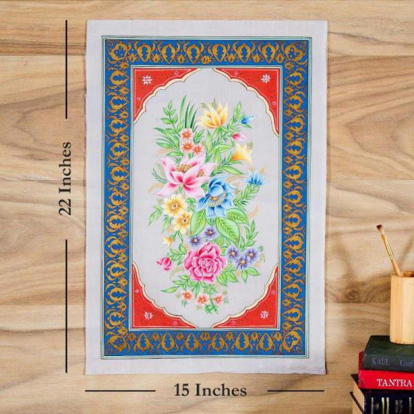 Magic of Flower Silk Painting