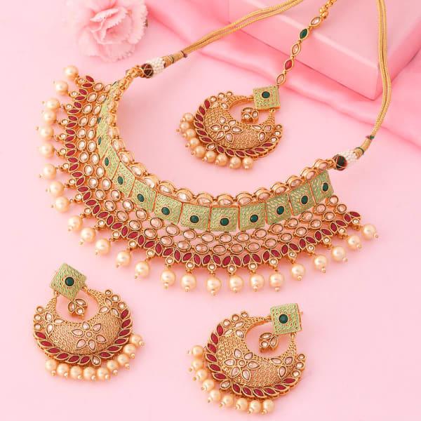 Majestic Choker Necklace Set