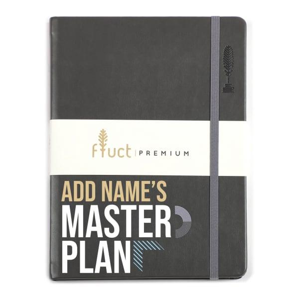 Master Plan Personalized Premium Notebook
