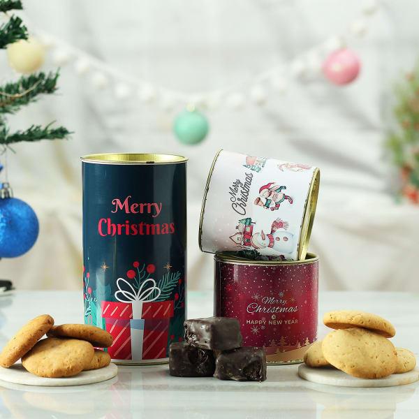 Merry Christmas Cookies Hamper