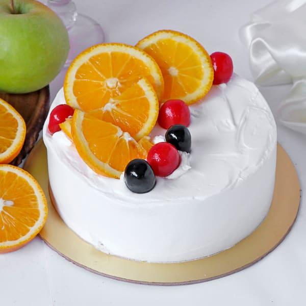 Mix Fruit Cake with Premium Frosting (Half Kg)