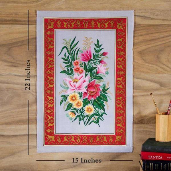 Mix Marvels Flower Silk Painting