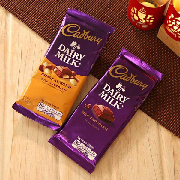 Mix of Cadbury Chocolate Bars