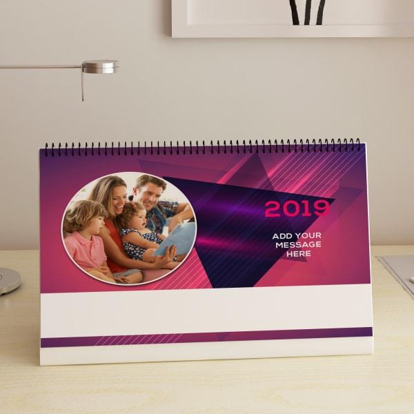 Mom Amp Me Personalized Desk Calendar A4 Gift Send Home