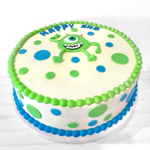 Monster Fondant Cake (1Kg)