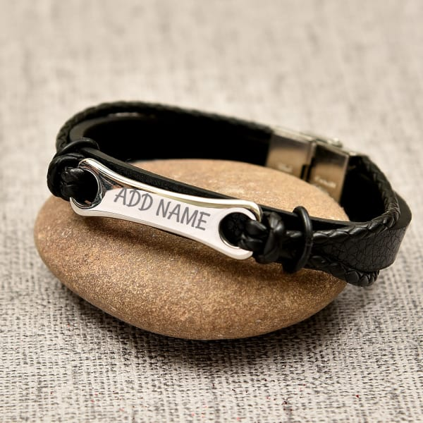 Multi Strand Personalized Bracelet For