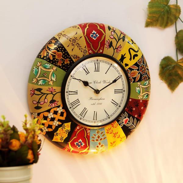 Multicolored Wall Clock