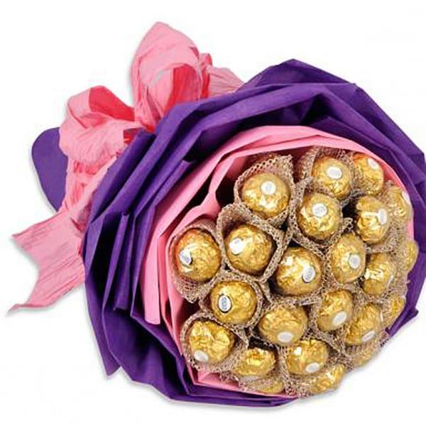 Mushy Ferrero - Rocher Chocolate Bouquet