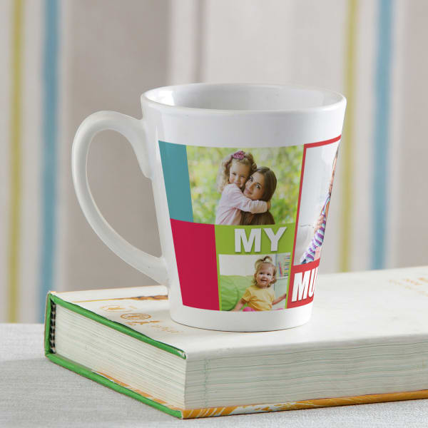 My Mum Personalized Conical Mug Giftsend Home And Living Gifts