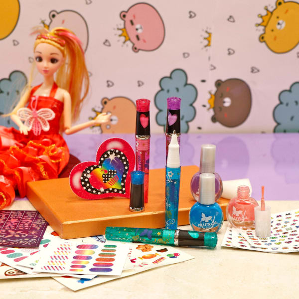 Nail & Tattoo Party Kit for Girls