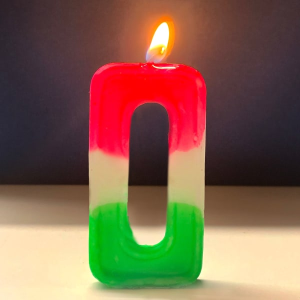 Number Candle 0