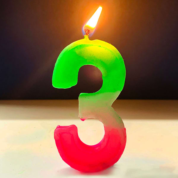 Number Candle 3