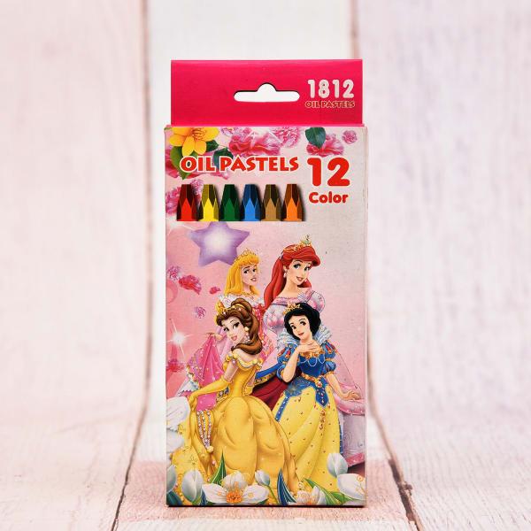 Oil Pastel 12 Colors Pack