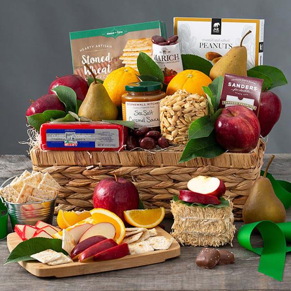 Orchard's Abundance - Fruit Gift Basket
