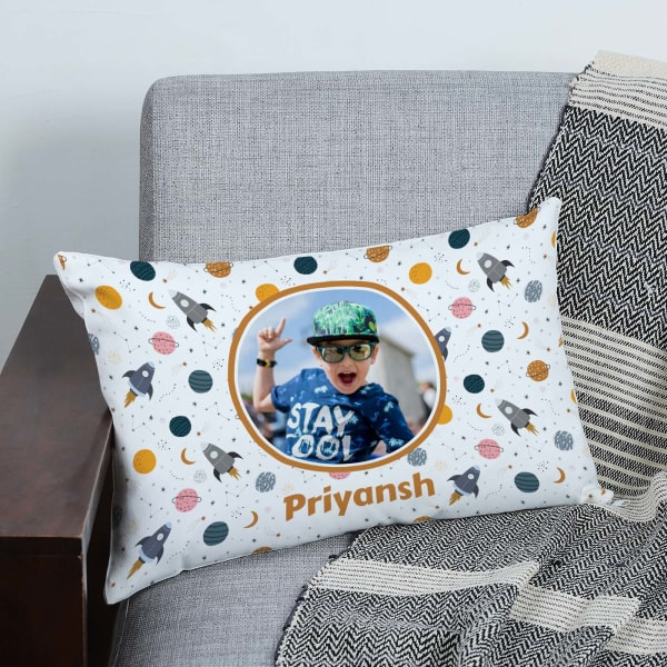 Outer Space Personalized Cushion