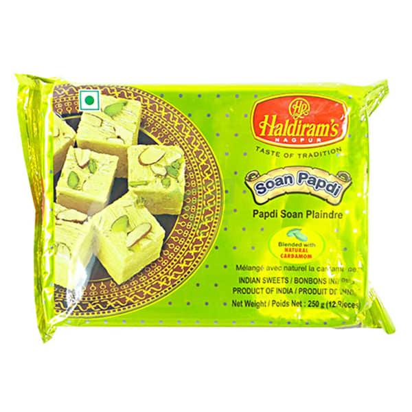 Pack of Haldirams Soan Papdi