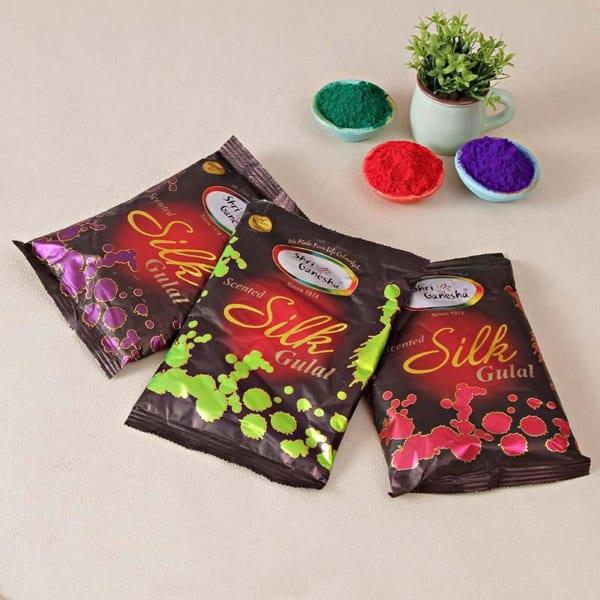 Pack of Silk Perfumed Gulaal