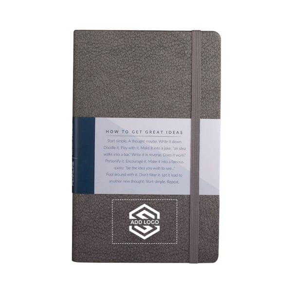 Pennline Notebook A5 Hard Bound Grey