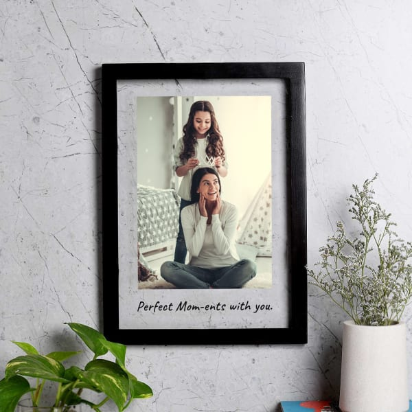 Perfect Mom-ents Personalized Photo Frame For Mothers