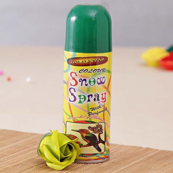 Perfumed Green Snow Spray