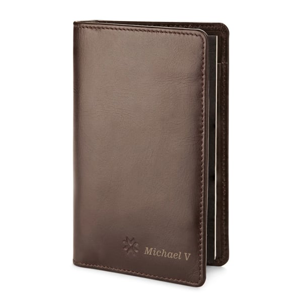 Personalized All in One Wallet with Memo Pad and Mini Pen